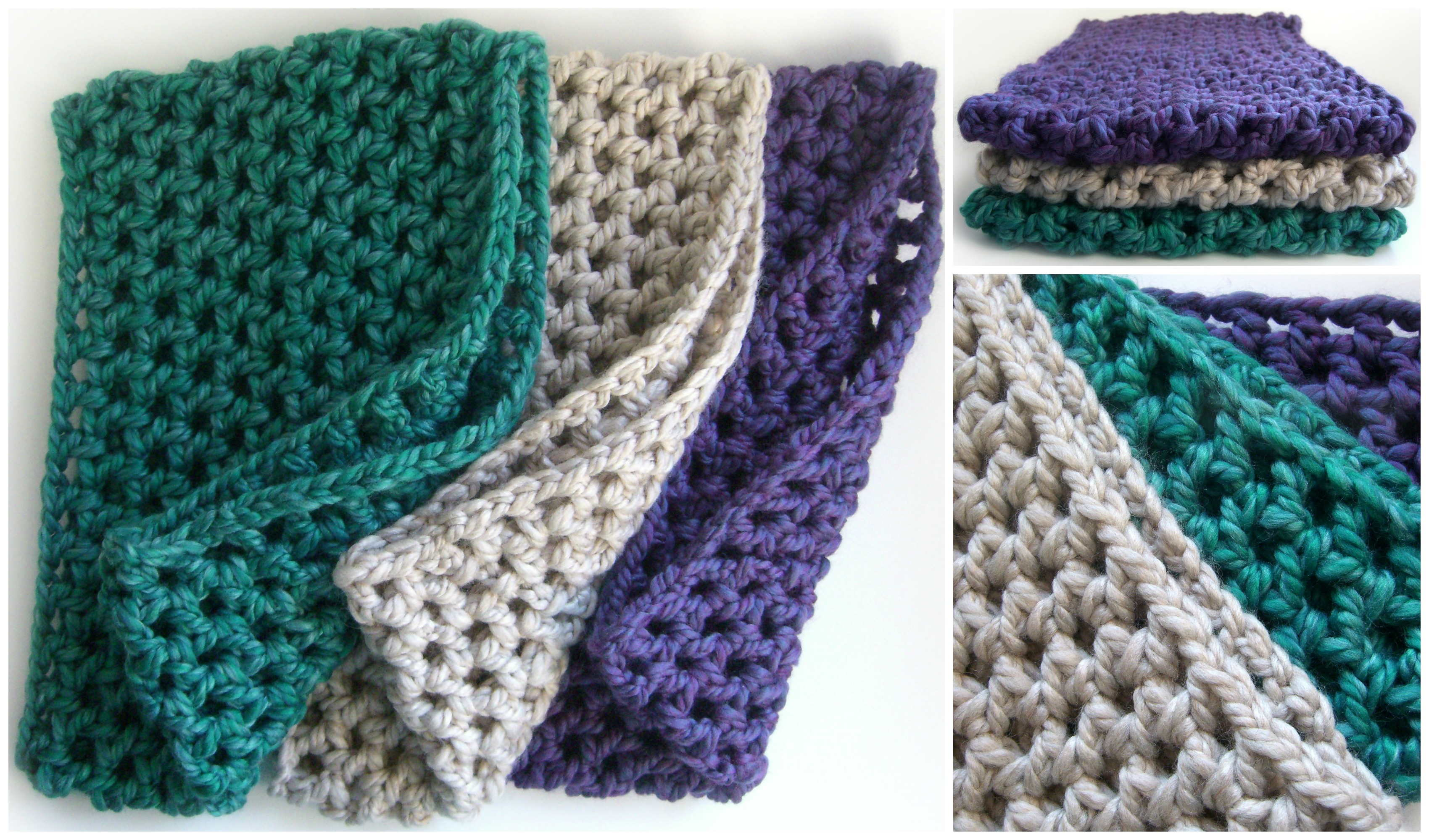 Crocheted cowls for the family | hookabee