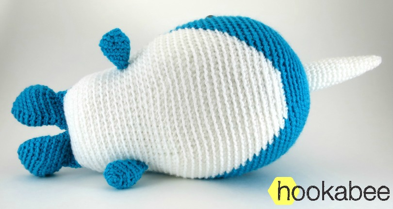 Cute baby whale amigurumi! - YouTube | 431x810