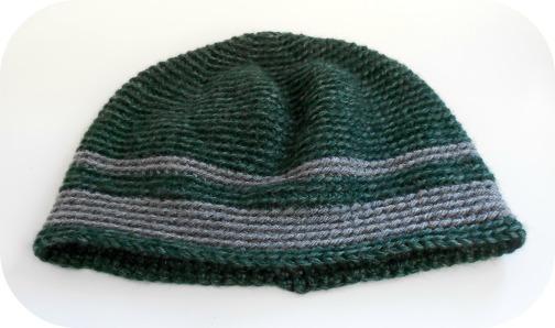 DROPS design men's crochet hat crocheted by hookabee