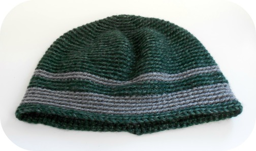 DROPS design men's crochet hat crocheted by hookabee