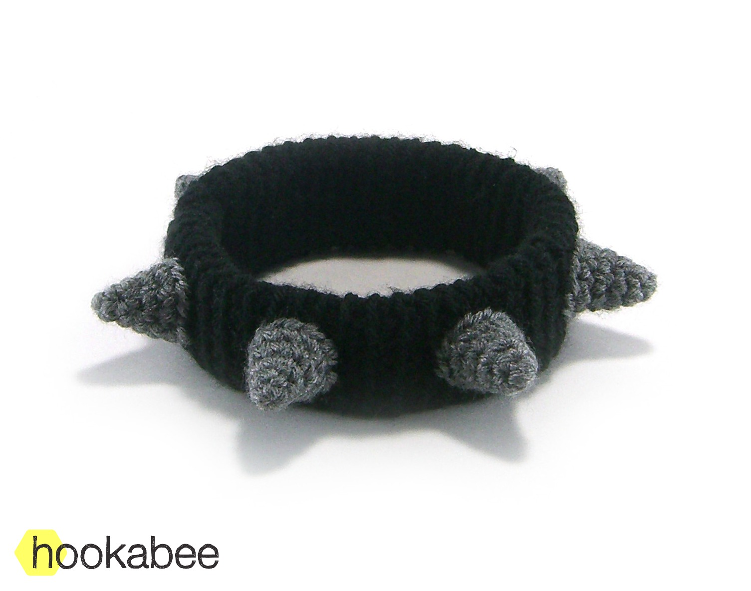 Spiked dog collar (free pattern) | hookabee