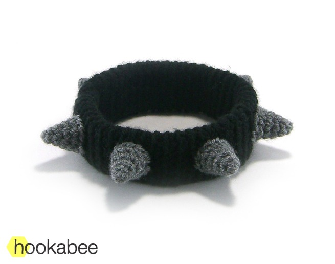 Spiked Dog Collar Crochet Pattern Hookabee