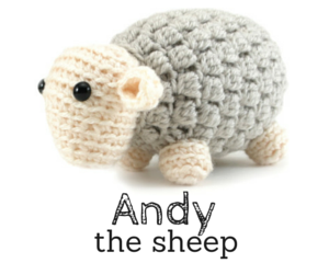 Andy the sheep amigurumi pattern by @hookabee
