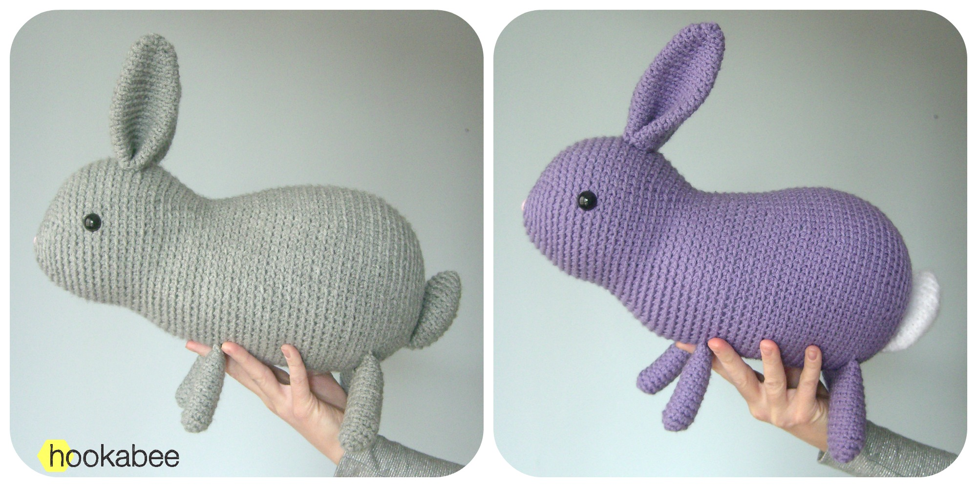 Crochet Bunny - Dutch Rabbit Amigurumi Pattern - Crochet News | 998x2000