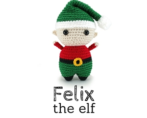 Felix the elf amigurumi pattern by hookabee