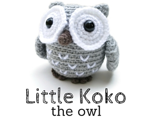 Little Koko the Owl amigurumi pattern by @hookabee
