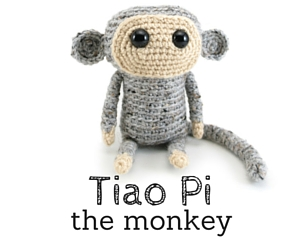 Tiao Pi the Monkey by @hookabee