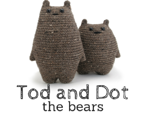 Tod and Dot the bears amigurumi pattern