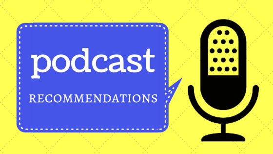 Podcast recommendations blog post title by hookabee