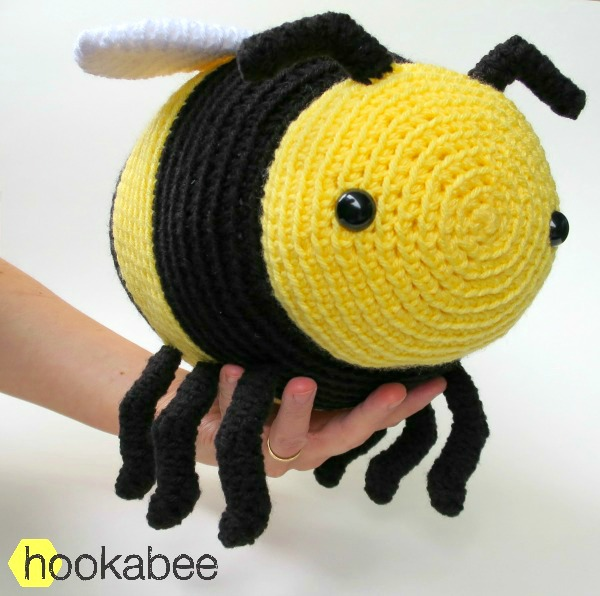 Bobby The Bumble Bee Amigurumi Pattern Hookabee
