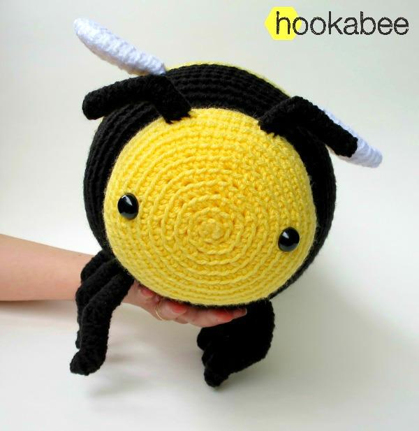 Bobby The Bumble Bee Amigurumi Pattern Hookabee