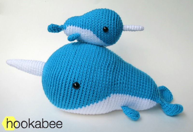 Little Walden The Narwhal Amigurumi Pattern Hookabee