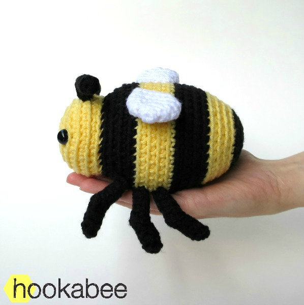 Little Bobby The Bumble Bee Amigurumi Pattern Hookabee