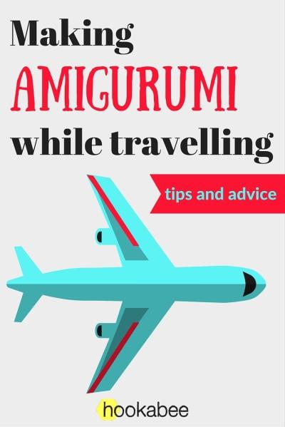 Making Amigurumi while travelling by @hookabee