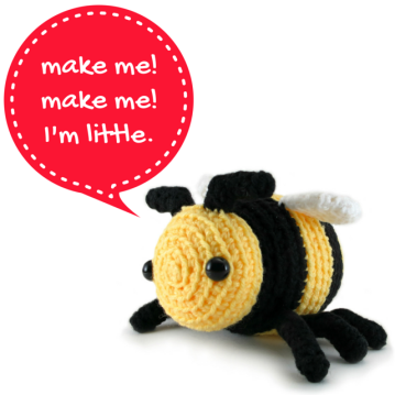 Bobby The Little Bee amigurumi pattern