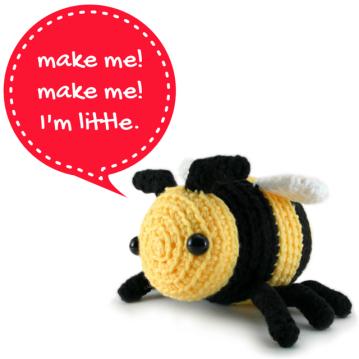 Bobby The Little Bee amigurumi pattern