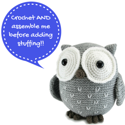 Koko The Owl amigurumi pattern