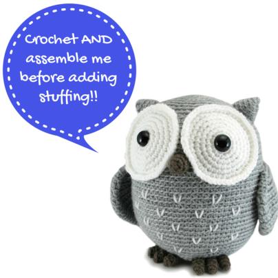 Koko The Owl amigurumi pattern