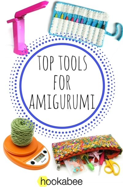 My favourite tools and notions for making amigurumi by @hookabee