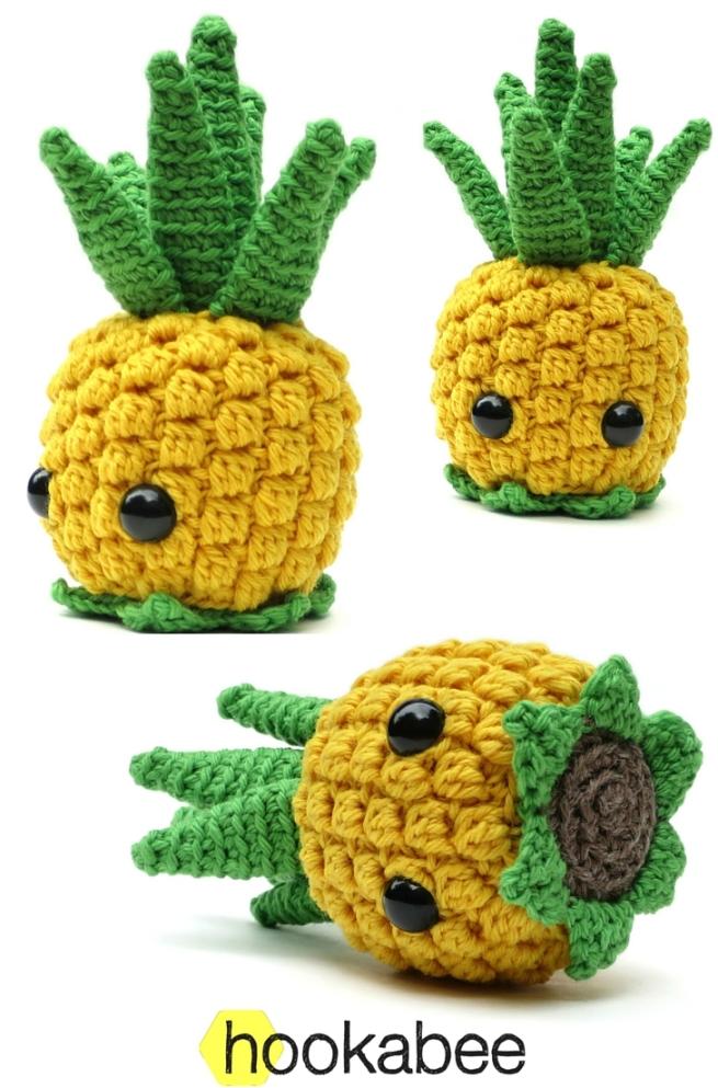 Bill the Pineapple amigurumi