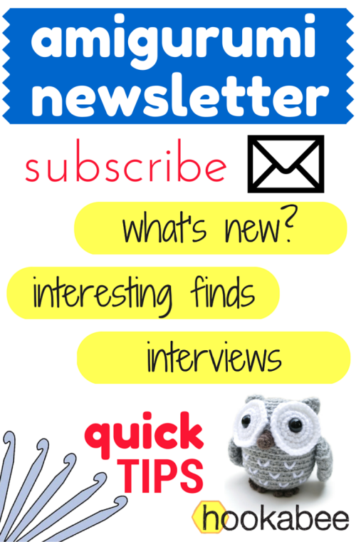 hookabee Amigurumi Email Newsletter