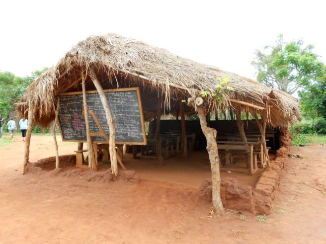 A traditional Togolese school