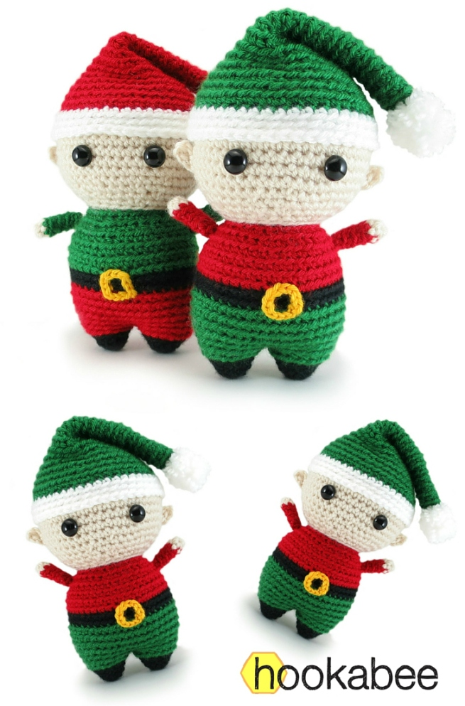 Felix The Elf Amigurumi Pattern Hookabee Delectable Elf Pattern
