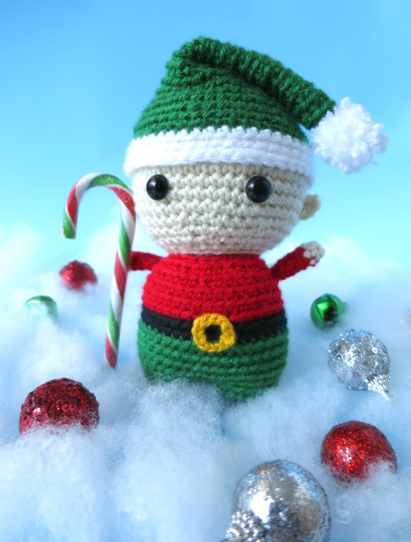 Felix the elf amigurumi by @hookabee