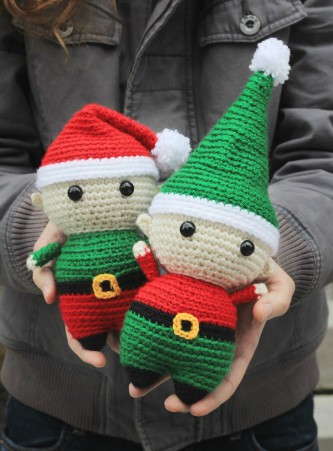 Felix the Elf amigurumi pattern by @hookabee