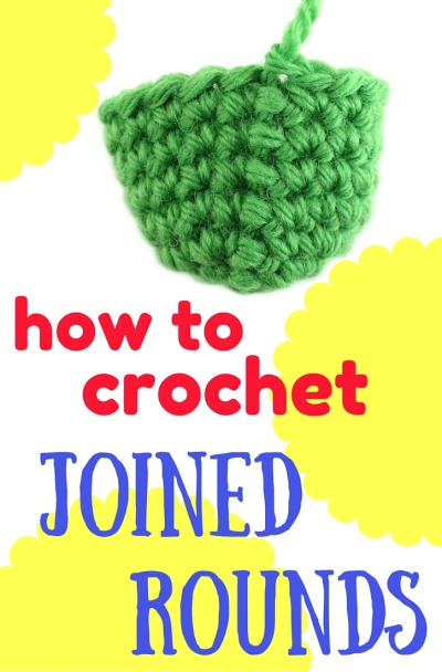 How to crochet joined rounds in amigurumi by @hookabee