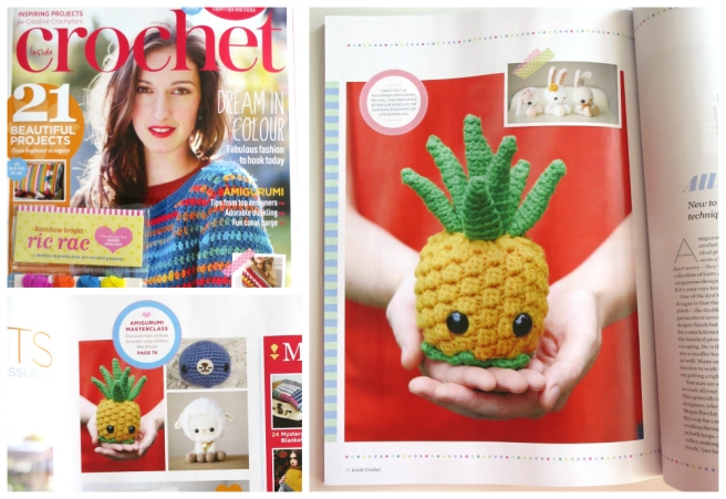 Inside Crochet amigurumi article
