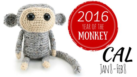 Monkey amigurumi CAL by hookabee